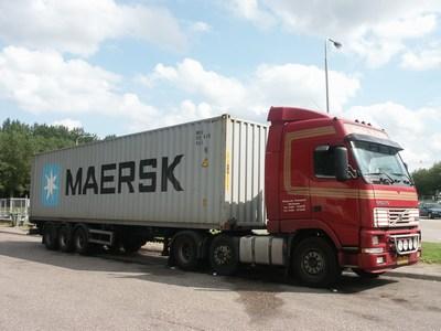 container, reachstacker, nascholing chauffeur, code 95, richtlijn vakbekwaamheid.
